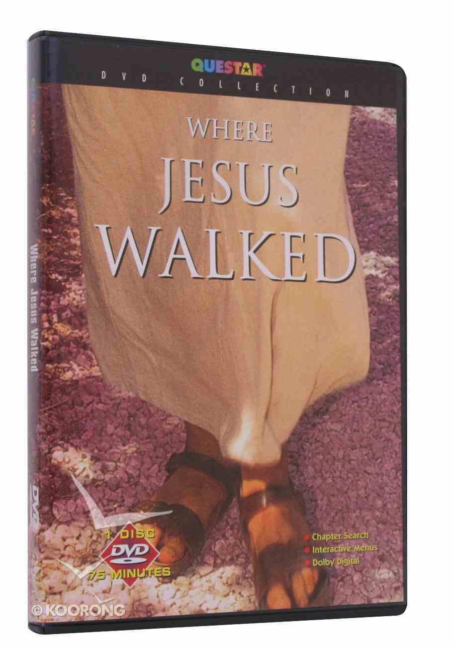 Where Jesus Walked DVD