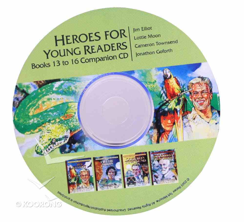 Activity Guide Audio CD For Books 13-16 (Heroes For Young Readers Series) CD