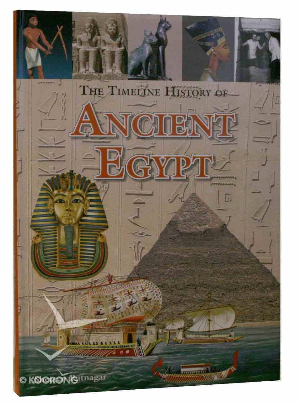 Timechart History of Ancient Egypt Hardback