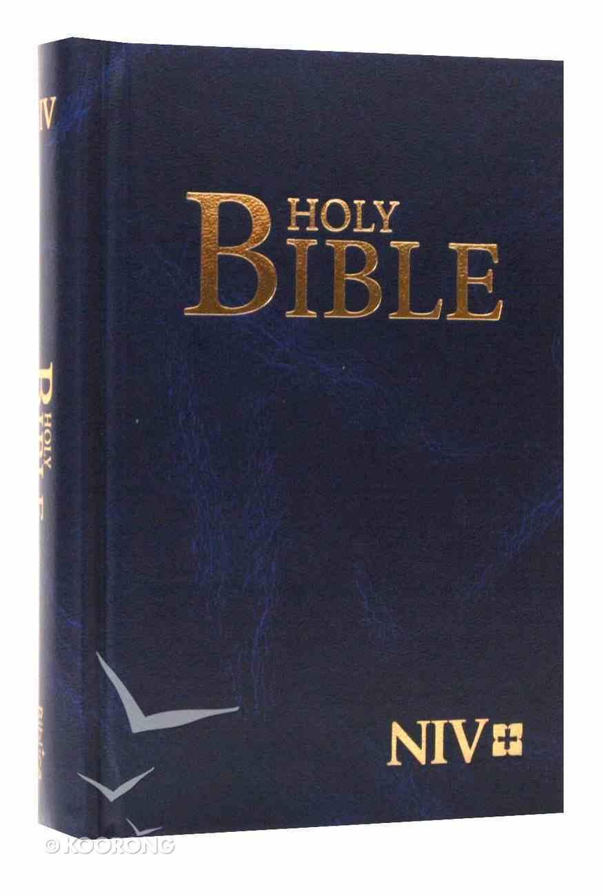 NIV Compact Navy Hardcover Hardback