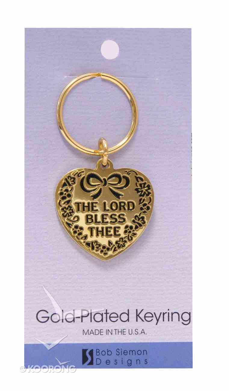 Keyring: The Lord Bless Thee (Brass) Jewellery