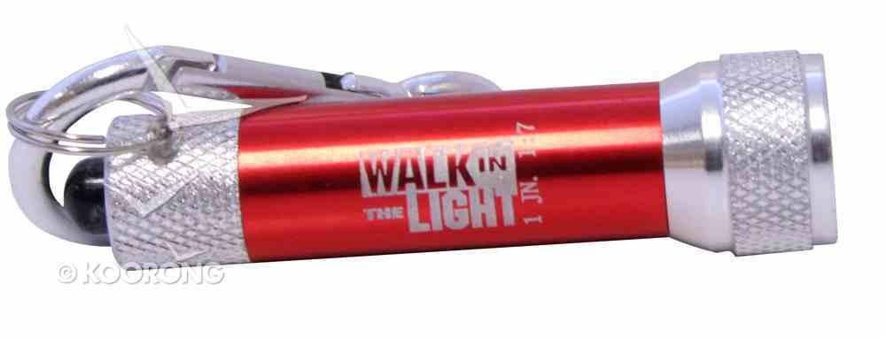 Led Flashlight Mini: 1 John 1 7 (Assorted - Black Red Blue & Purple) General Gift