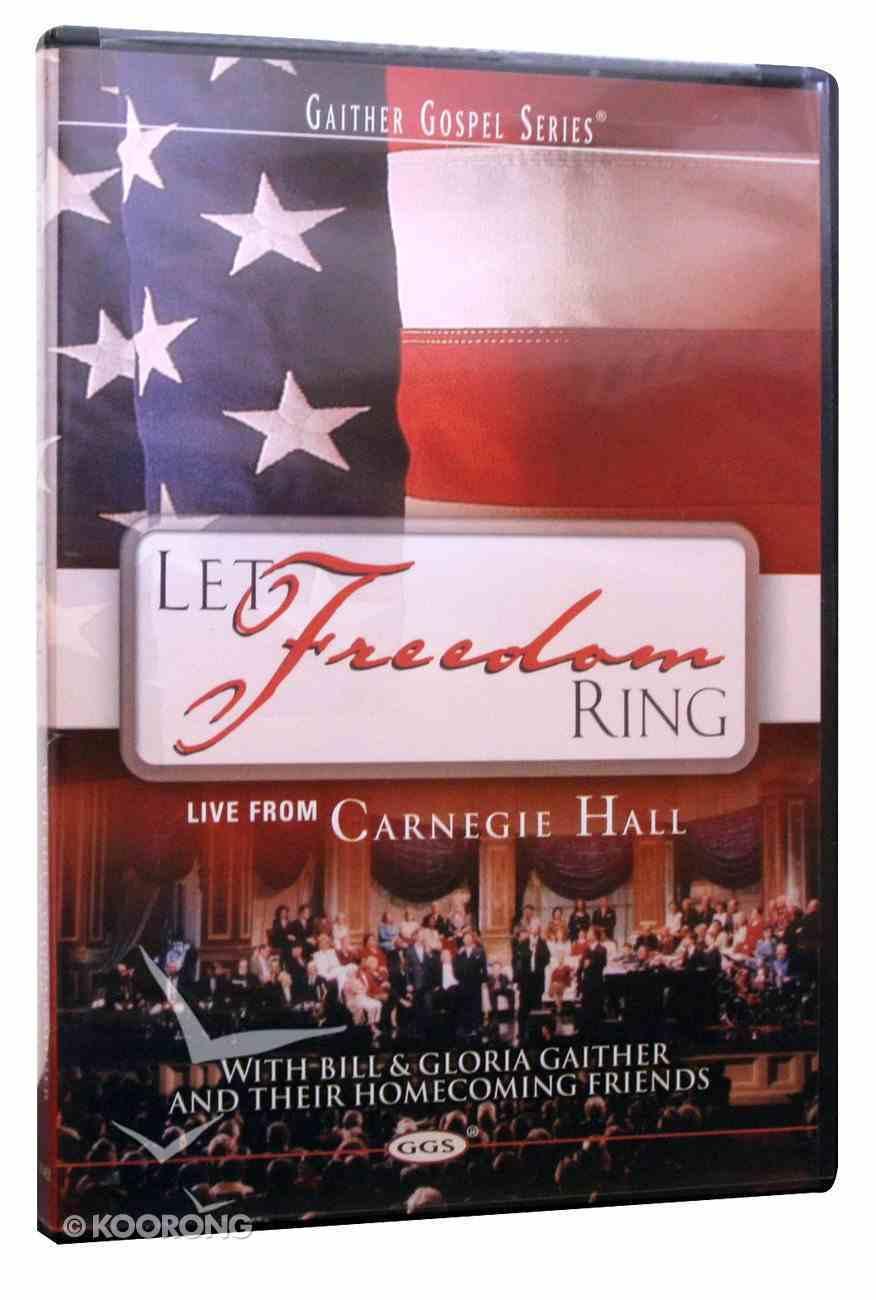 Let Freedom Ring (Gaither Gospel Series) DVD