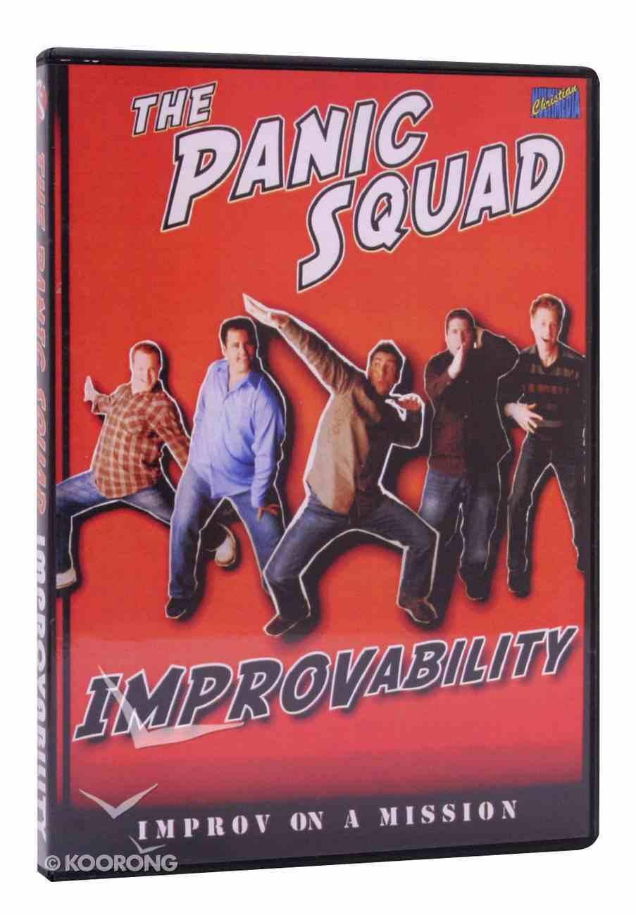 The Panic Squad: Improvability DVD