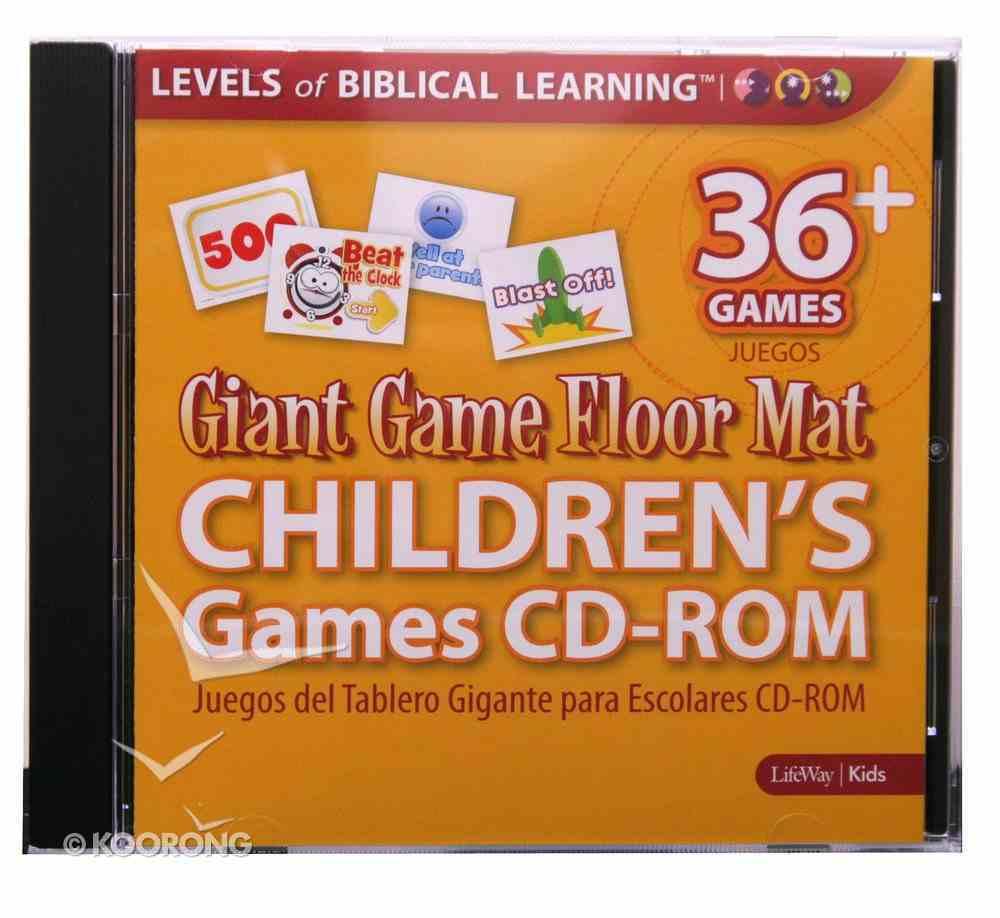 Giant Game Floor Mat Childrens's Games Cd-Rom CD-rom