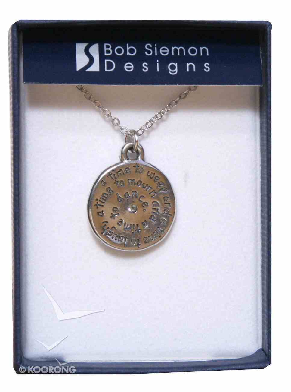 Pendant: Organic: Laugh (Lead-free Pewter) Jewellery