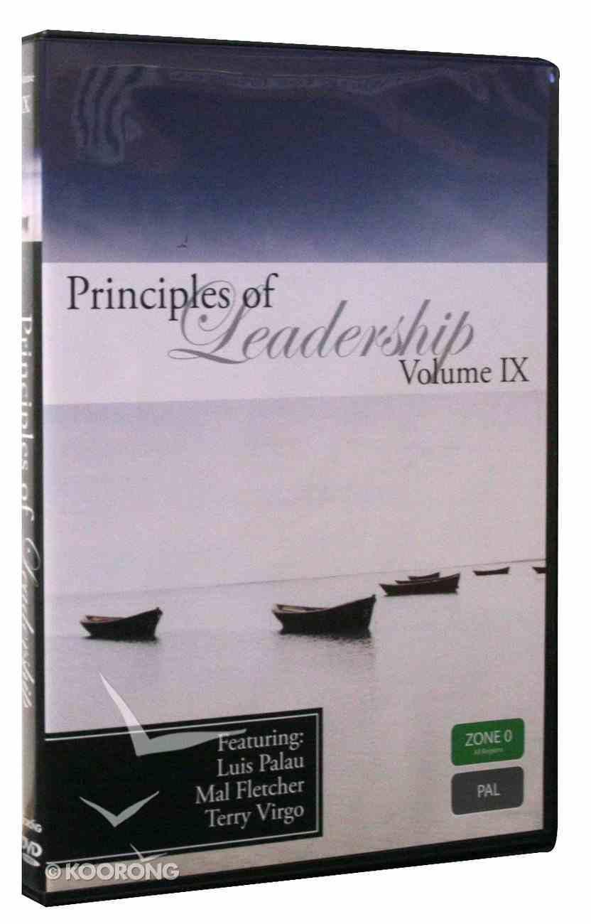 Luis Palau, Mal Fletcher, Terry Virgo (#09 in Principles Of Leadership Series) DVD