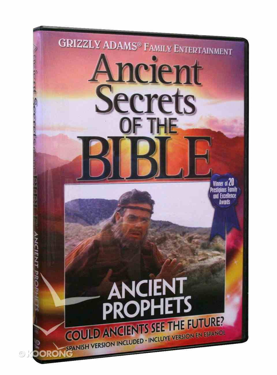Ancient Secrets 3 #10: Ancient Prophets (#10 in Ancient Secrets Of The Bible Dvd Series) DVD
