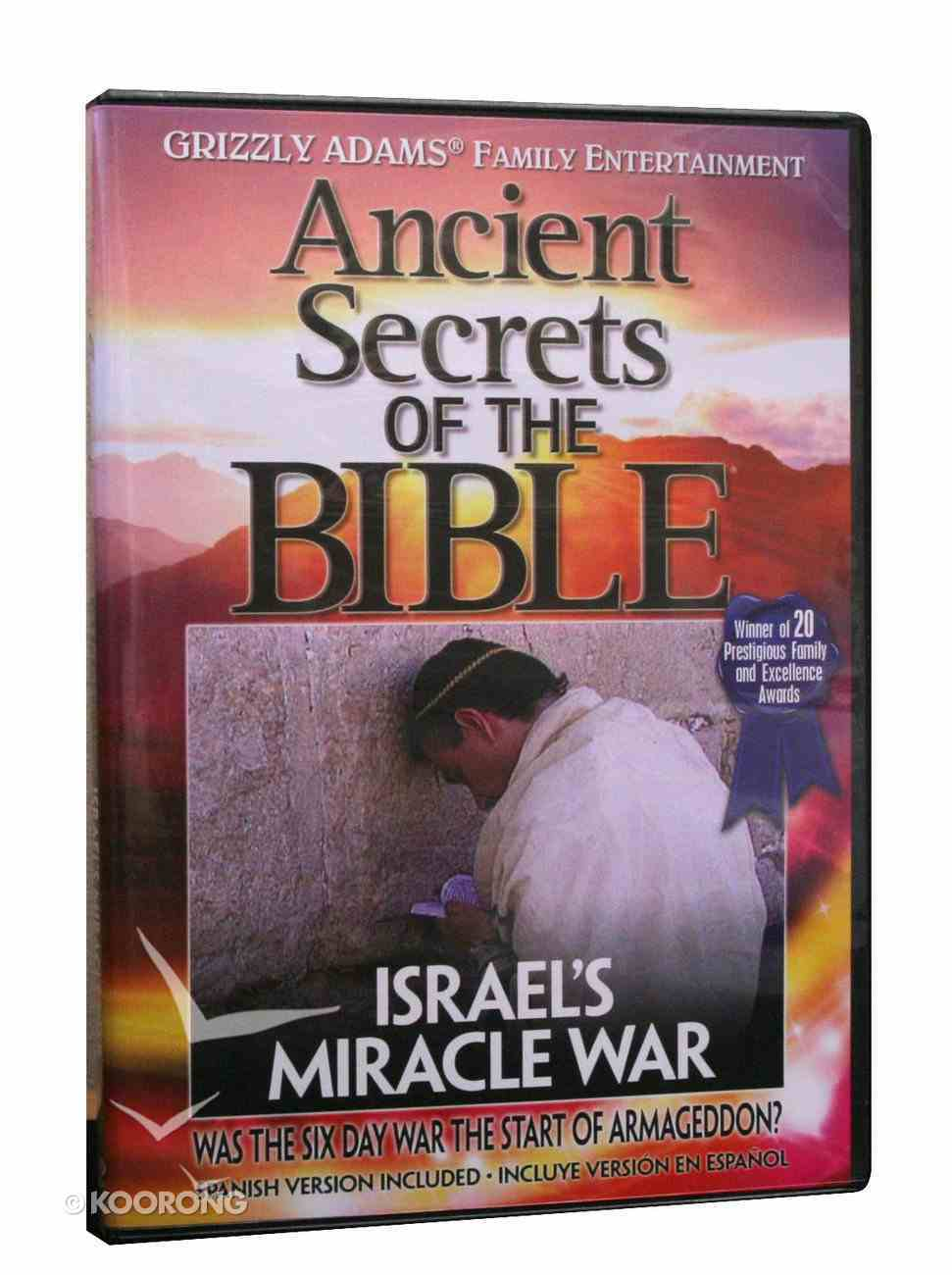 Ancient Secrets 3 #12: Israel's Miracle War (#12 in Ancient Secrets Of The Bible Dvd Series) DVD
