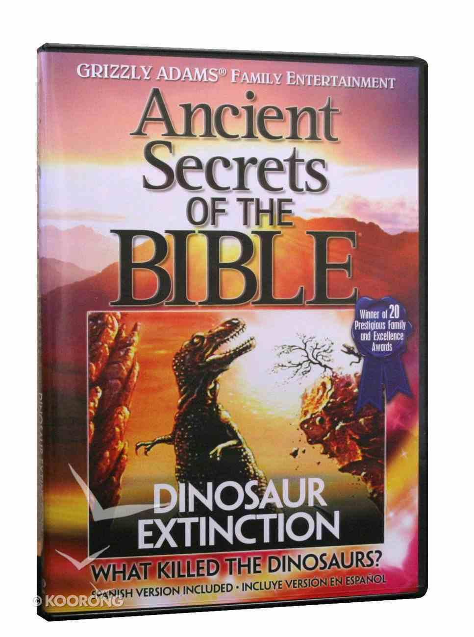 Ancient Secrets 2 #03: Dinosaur Extinction (Ancient Secrets Of The Bible Dvd Series) DVD