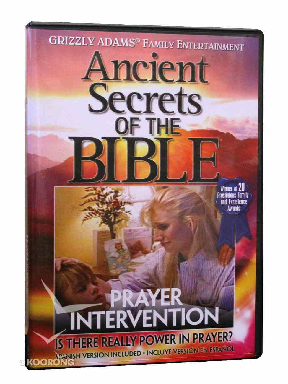Ancient Secrets 2 #09: Prayer Intervention (Ancient Secrets Of The Bible Dvd Series) DVD