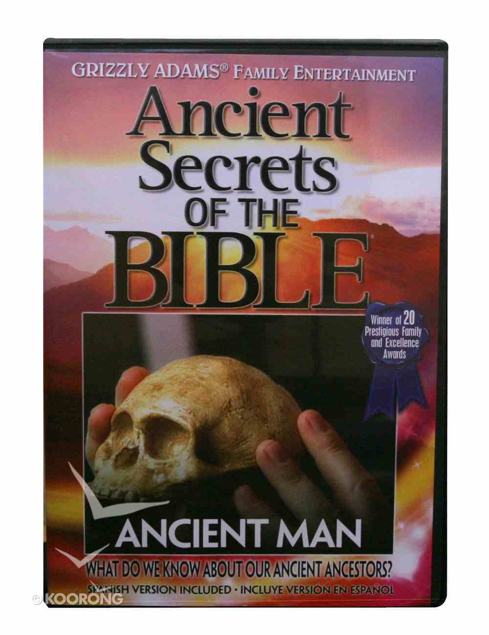 Ancient Secrets 2 #11: Ancient Man (Ancient Secrets Of The Bible Dvd Series) DVD