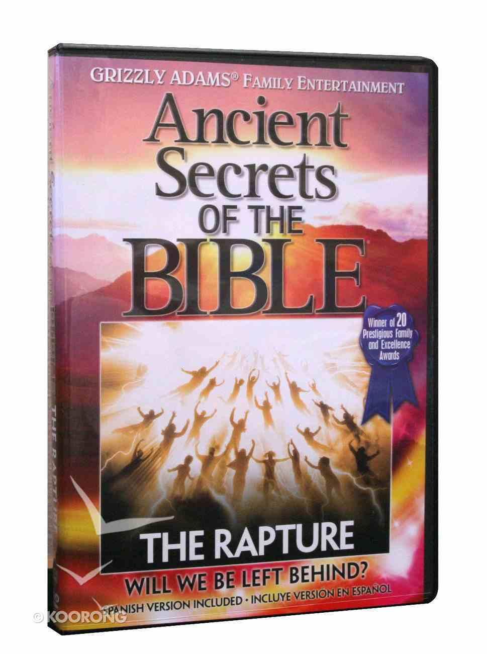 Ancient Secrets 2 #12: The Rapture (Ancient Secrets Of The Bible Dvd Series) DVD
