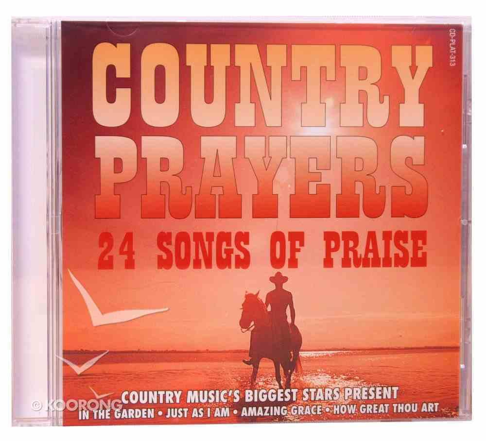 Country Prayers CD