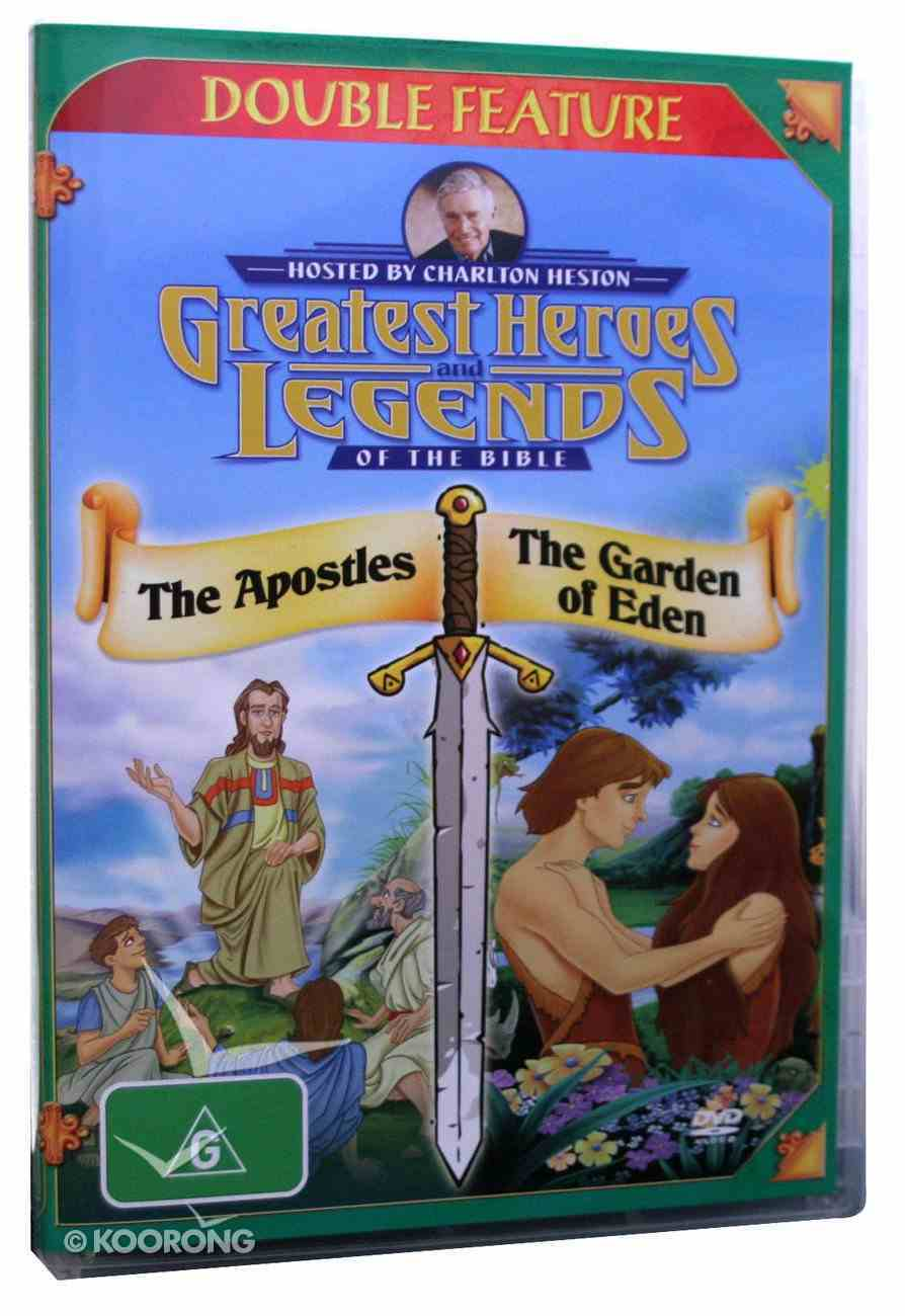 The Apostles/Garden of Eden (Greatest Heroes & Legends Of The Bible Series) DVD