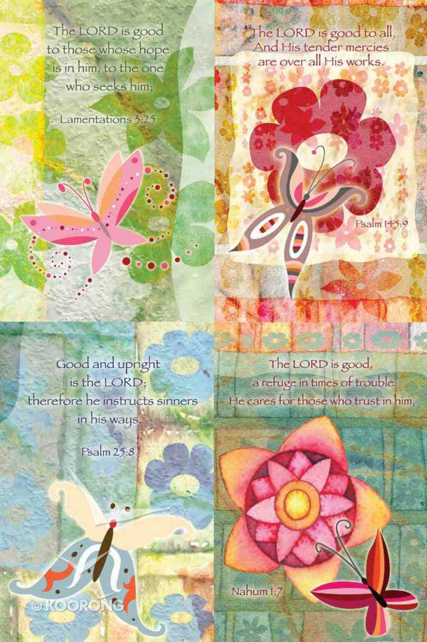 Notepad Texture Series Pack of 4 With Scripture Stationery