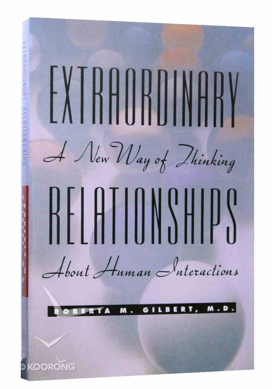 Extraordinary Relationships Paperback