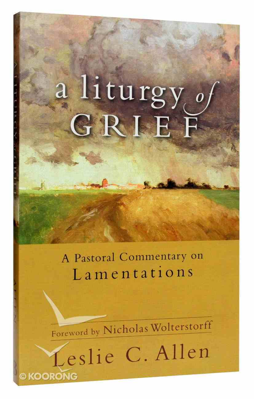 A Liturgy of Grief: A Practical Commentary on Lamentations Paperback