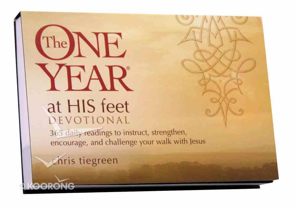 The One Year At His Feet Devotional Paperback