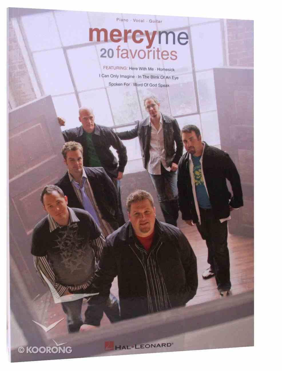 Mercyme - 20 Favorites Songbook Paperback