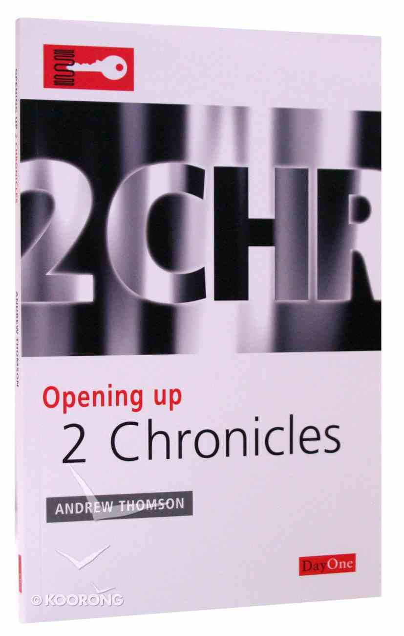 2 Chronicles (Opening Up Series) Paperback