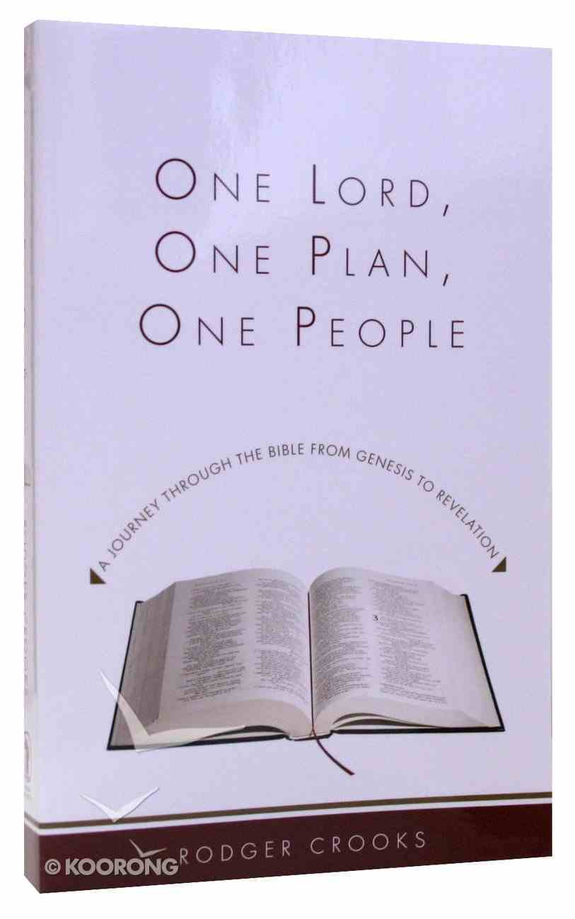 One Lord, One Plan, One People Paperback