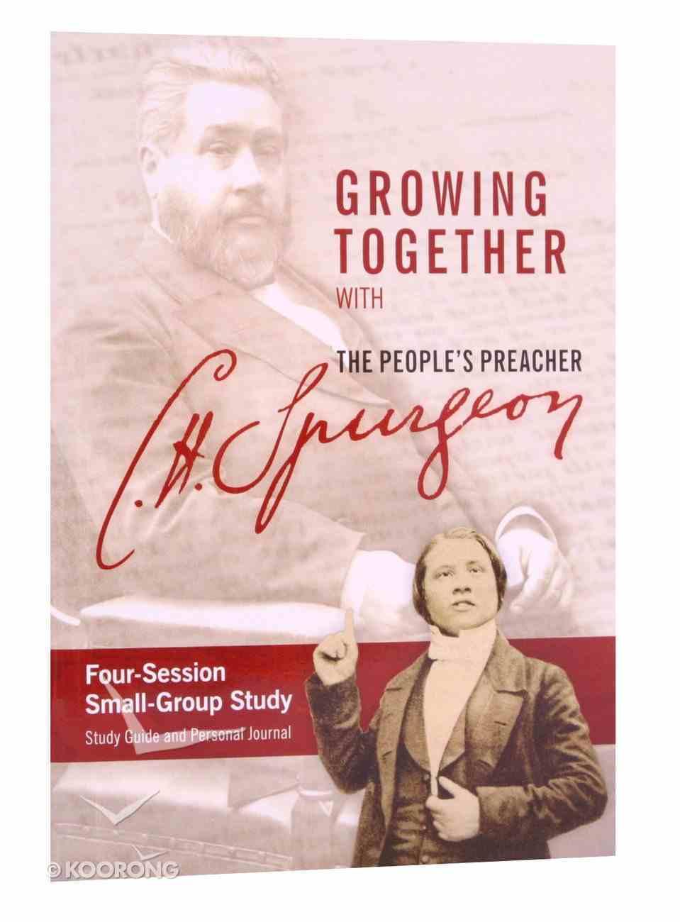 Growing Together With C H Spurgeon (Study Guide) Paperback