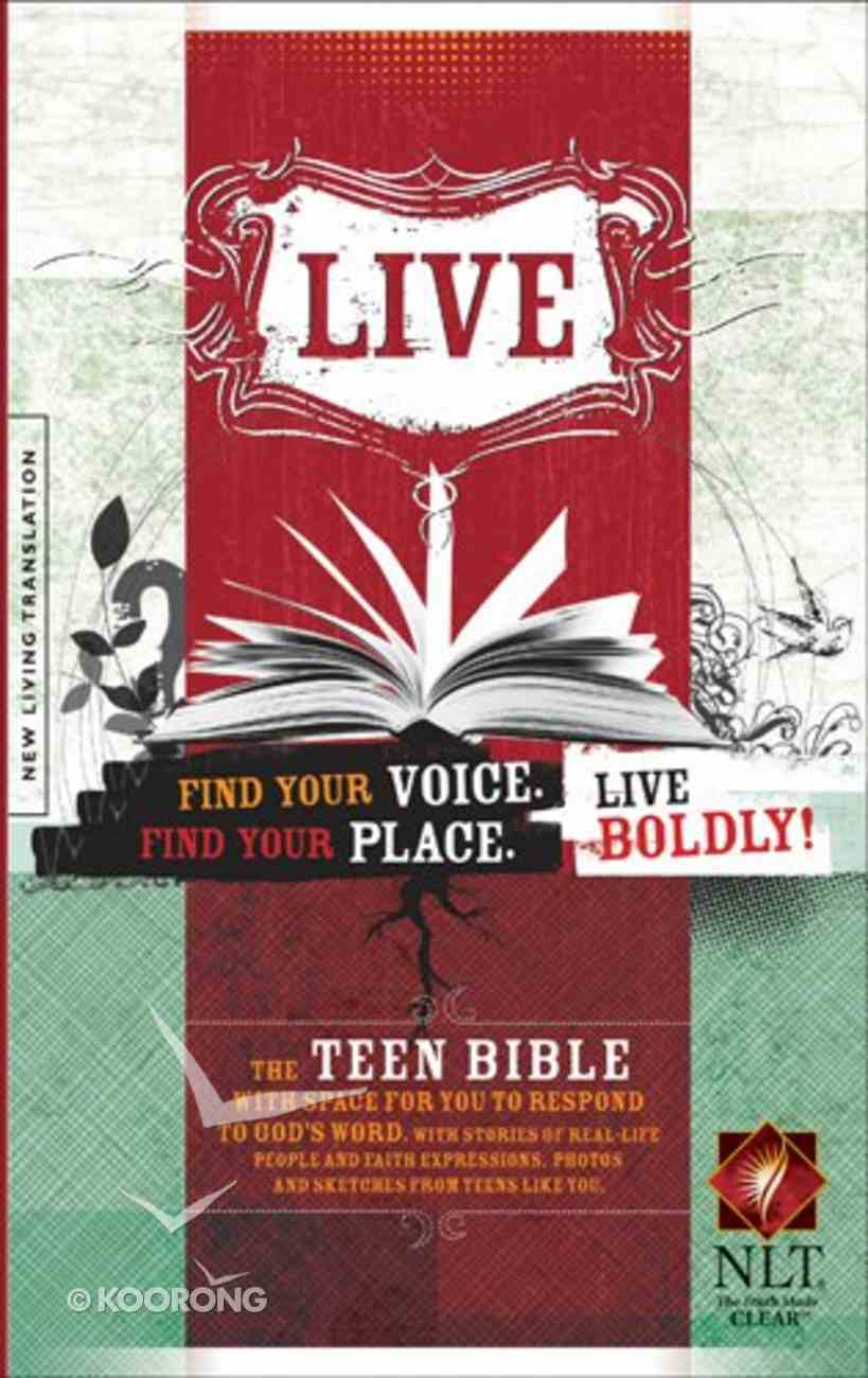 NLT Live Bible (Black Letter Edition) Paperback