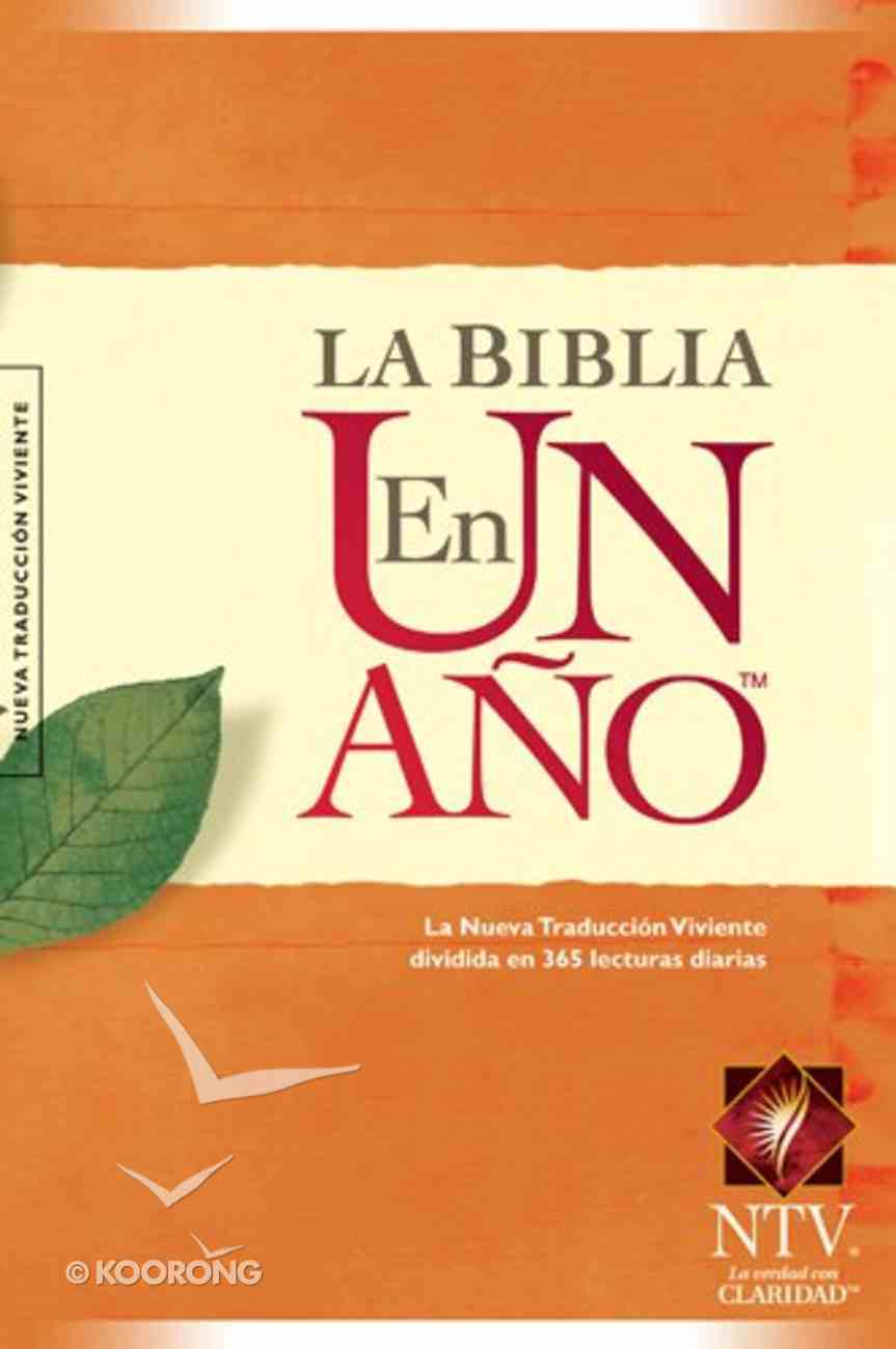 Ntv Biblia En Un Ano (Black Letter Edition) (One Year Bible) Hardback