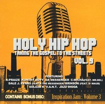 Album Image for Holy Hip Hop #09: Taking the Gospel to the Streets - DISC 1