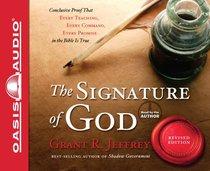 Album Image for The Signature of God (Unabridged, 8 Cds) - DISC 1