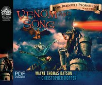 Album Image for Venom and Song (Unabridged, 8 CDS) (#02 in The Berinfell Prophecies Series Audiobook) - DISC 1