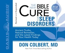 Album Image for For Sleep Disorders (Unabridged, 2 CDS) (The New Bible Cure Series) - DISC 1