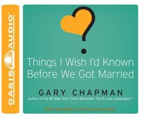 Album Image for Things I Wish I'd Known Before We Got Married - DISC 1