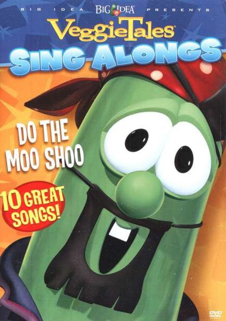 Product: Dvd Veggie Tales Sing Along: Do The Moo Shoo Image