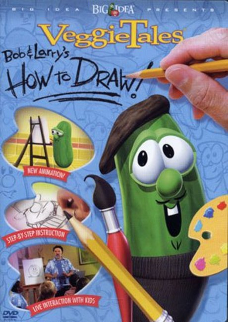 Product: Dvd Veggie Tales: How To Draw With Bob And Larry Image