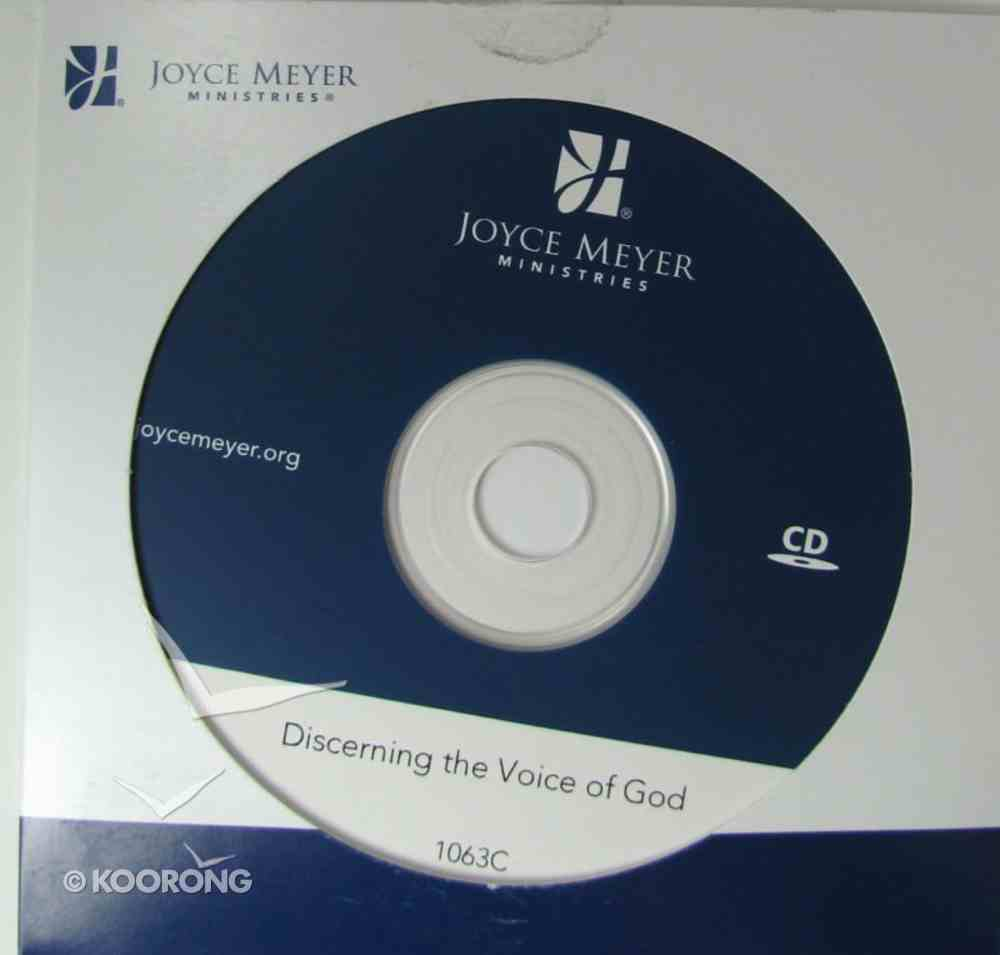 Discerning the Voice of God CD