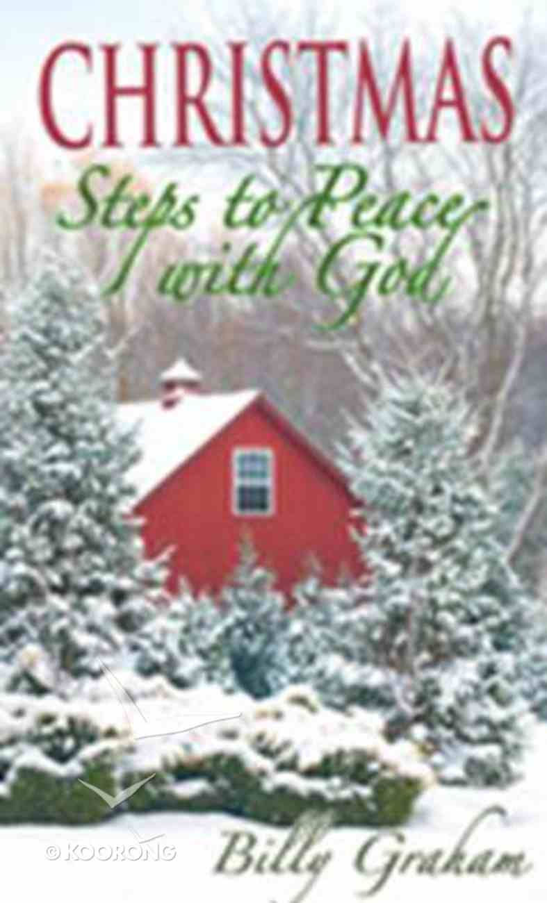 Christmas Steps to Peace With God (20 Pack) (Kjv) Booklet