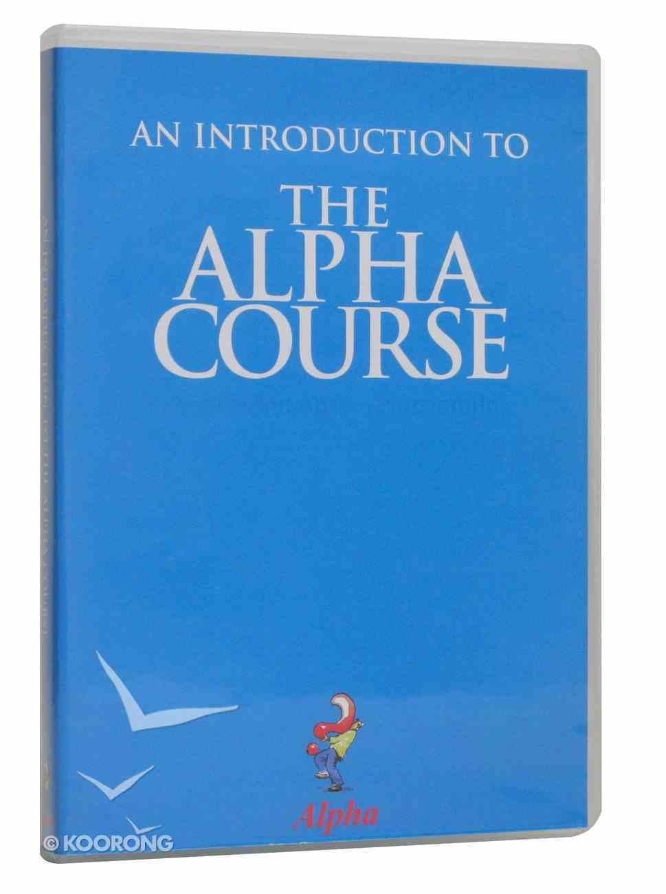 An Introduction (Alpha Course) DVD