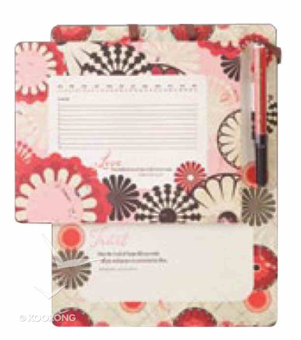 Hope Magnetic Memo Board and Mouse Pad (Dry Marker & Ribbon) Stationery