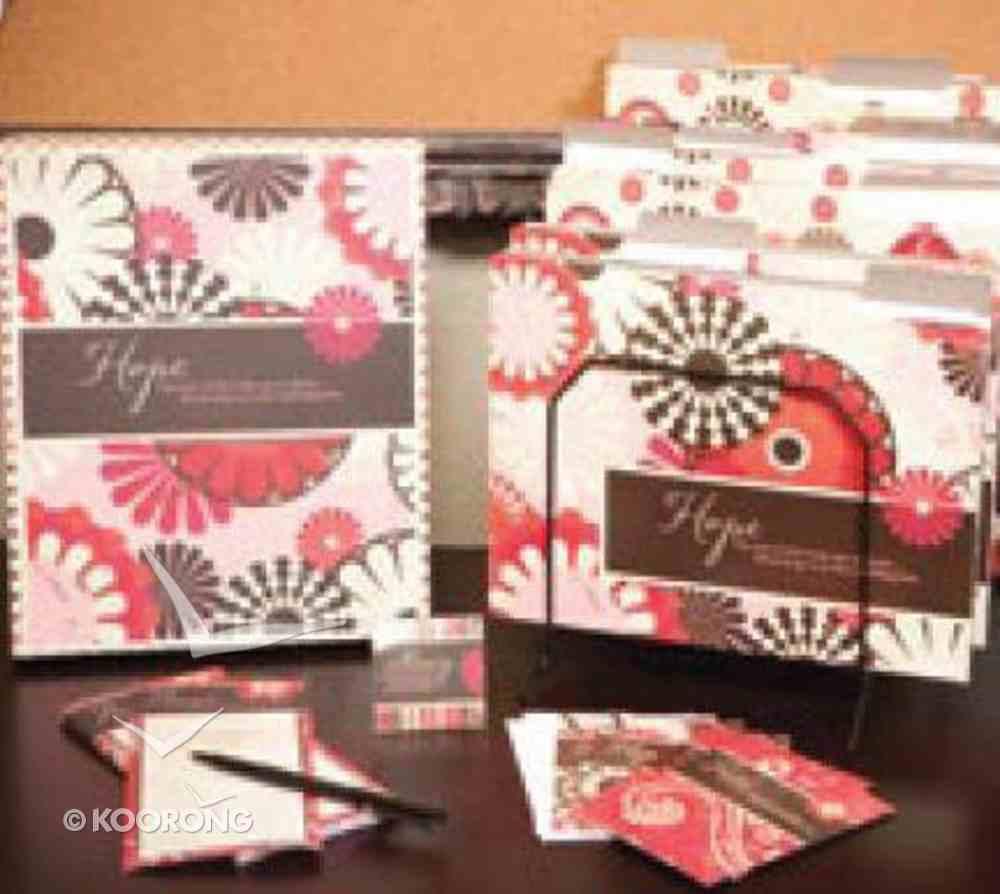 Hope Desk Set (File Folders, Note Card/envelopes, Magnets, Note Pad) Stationery