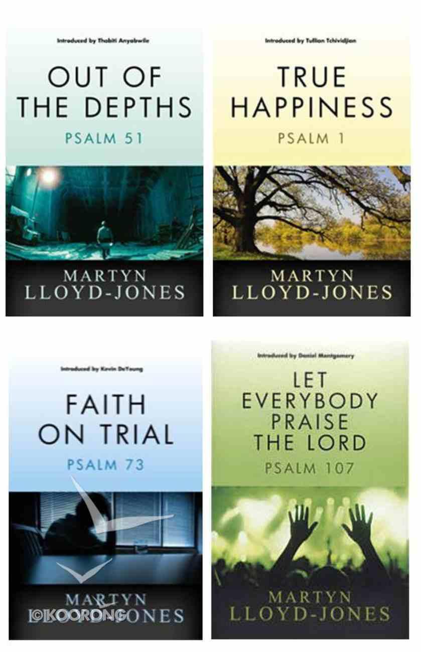 Lloyd-Jones Classic Psalms 4-Pack (4 Vols) Pack