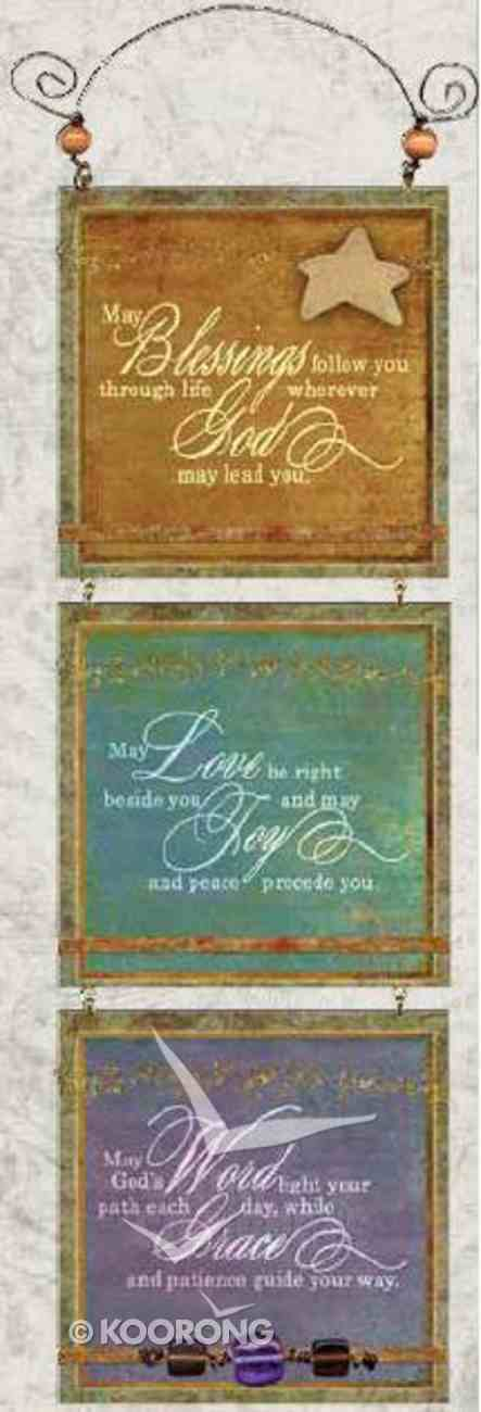 You're My Star 3 Tier Mdf Plaque: Blessings, Love, Word Plaque