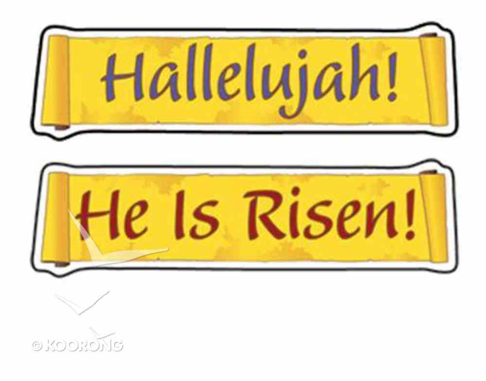 Stickers He is Risen! (108 Stickers) Stickers