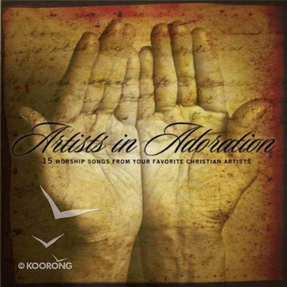 Artists in Adoration CD