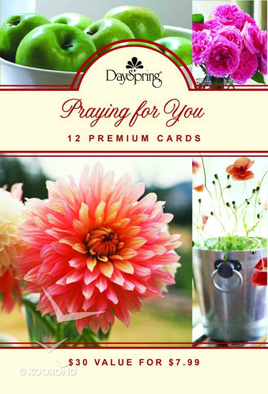 Boxed Cards Praying For You: Scripture Treasures (High Gloss) Box
