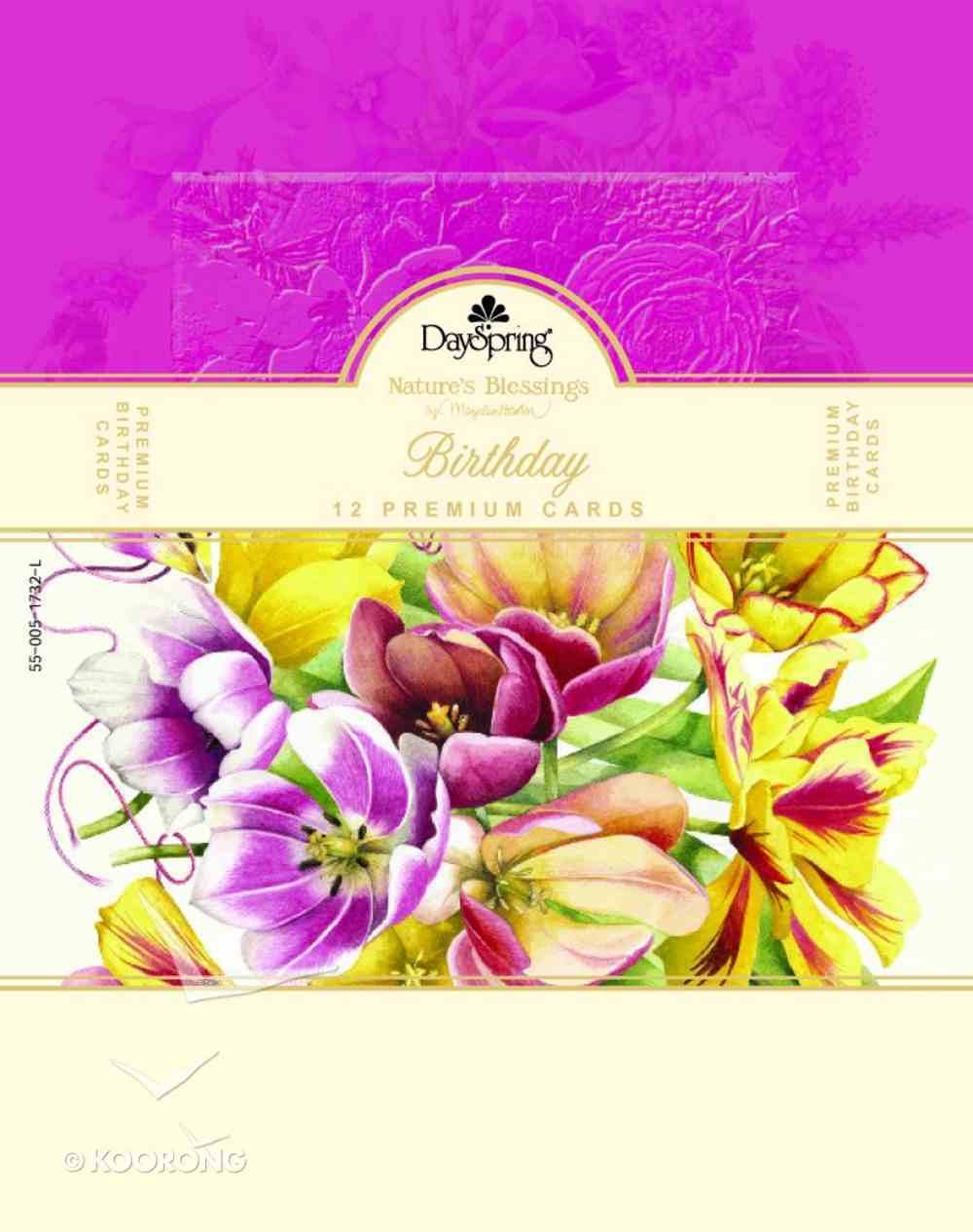 Boxed Cards Birthday: Nature's Blessing Marjolein Bastin Box