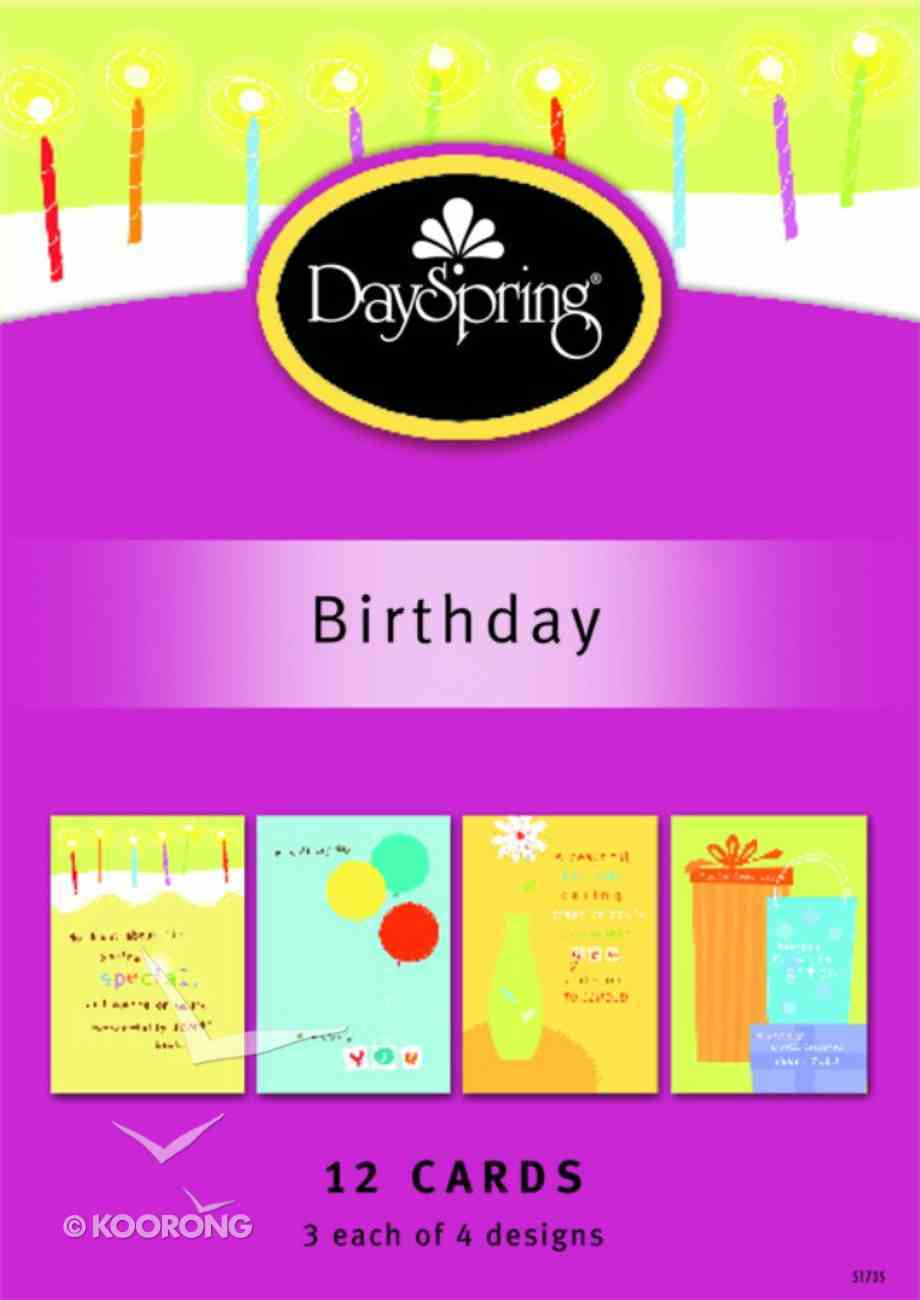 Boxed Cards Birthday: Special Friends Box