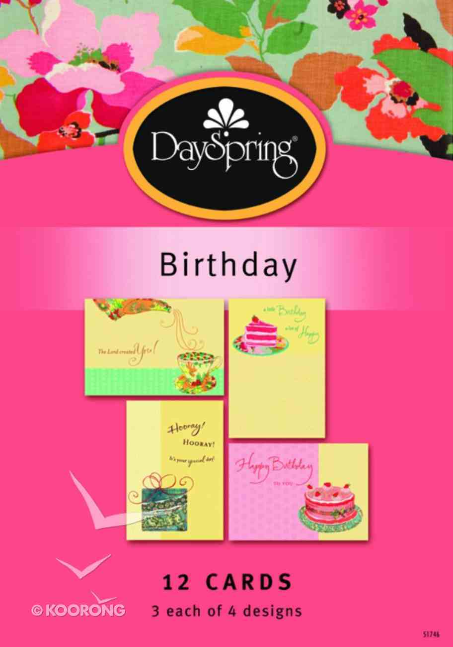 Boxed Cards Birthday: Whimsical Greetings Box