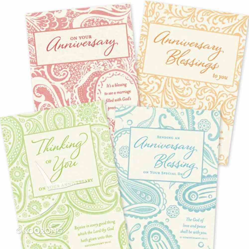 Boxed Cards Anniversary: Through the Year Box